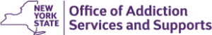 Offices of Addiction Services and Support New York state logo